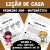 Lição de casa - 1º ano - Volume 2