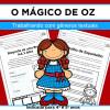 Mágico de Oz - Trabalhando com Gêneros Textuais