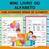 Mini Livro do Alfabeto - com atividades BÔNUS
