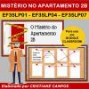 Mistério no Apartamento 2B - para Google Classroom