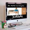 """""""No mundo da pesquisa"""" - Jornal - 6 a 8 anos"""