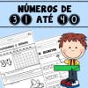 Números de 31 até 40