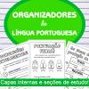 Organizadores de Língua Portuguesa