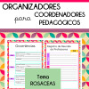 Organizadores para Coordenadores - tema Rosáceas