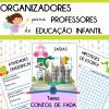 Organizadores para professores de Ed. Infantil - tema Contos de Fada