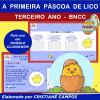 A Primeira Páscoa de Lico - TERCEIRO ANO - para Google Classroom