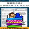 Sequenciada A Princesa e a Ervilha