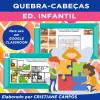 QUEBRA-CABEÇA - Educação Infantil - para GOOGLE CLASSROOM
