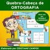Quebra-Cabeça de ORTOGRAFIA - para uso em GOOGLE CLASSROOM