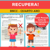 RECUPERA! - Quarto Ano - Carta Pessoal, Carta de Reclamação e Notícia