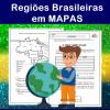 Regiões Brasileiras em MAPAS