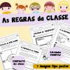As REGRAS da CLASSE - com atividades!