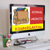 School Objects - for kindergarten