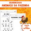 Sequenciada ANIMAIS DA FAZENDA