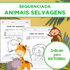 Sequenciada ANIMAIS SELVAGENS