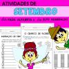 Atividades de SETEMBRO com Alfabeta e Numeraldo