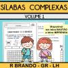 Sílabas Complexas - Volume 1