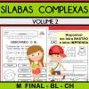 Sílabas Complexas - Volume 2