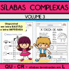 Sílabas Complexas - Volume 3