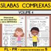 Sílabas Complexas - Volume 4