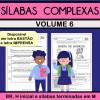 Sílabas Complexas - Volume 6