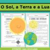 O Sol, a Terra e a Lua