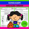 SONDAGEM - Ed. Infantil - Turmas de 4 anos