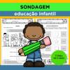 SONDAGEM - Ed. Infantil - Turma de 5 anos