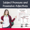 Subject Prounouns and Possessive Adjectives