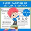 Super Pacotão de Leitura e Escrita - Volume 3