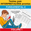 Textos com INTERPRETAÇÕES prontas - Volume 1 - Fundamental 2