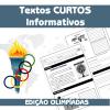 Textos informativos curtos - Edição Olimpíadas