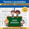 Textos Lacunados - Edição ORTOGRAFIA