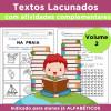 Textos Lacunados com Atividades Complementares - VOLUME 2