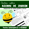 Textos informativos e fichas sobre BICHOS DE JARDIM