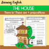 The House - There is/ There are + prepositions of place