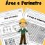 Área e Perímetro