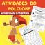 Atividades do Folclore - Alfabetização e Matemática