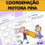 Coordenação Motora Fina