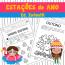 Estações do Ano - Educação Infantil