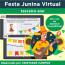 Festa Junina Virtual - para GOOGLE CLASSROOM