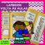 Lapbook VOLTA ÀS AULAS - modelo 2 - alfabetização