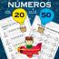 Números de 20 até 50